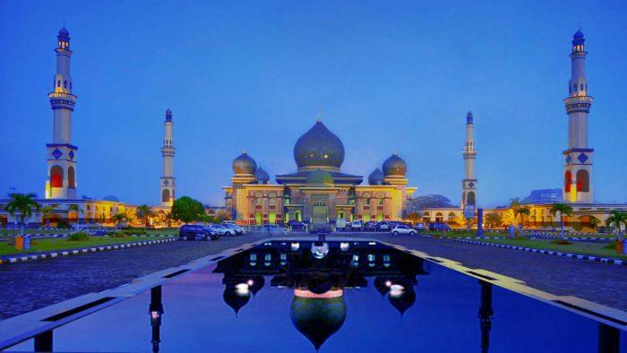 Hasil gambar untuk Masjid Agung An Nur Pekanbaru